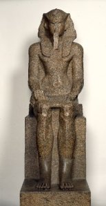 Estatua que se atribuye a la imagen de Sobekemsaf